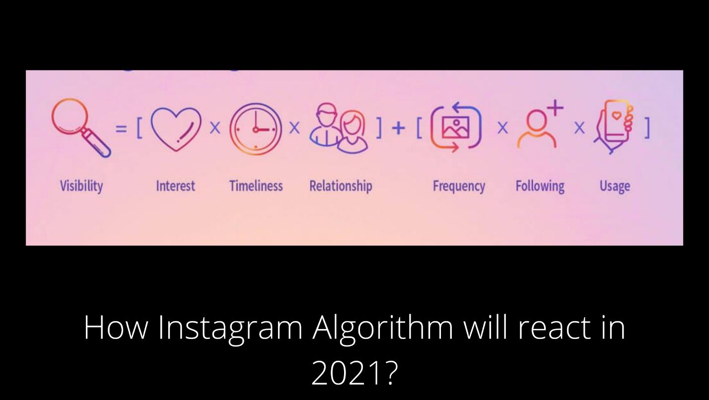Instagram Algorithm 2021