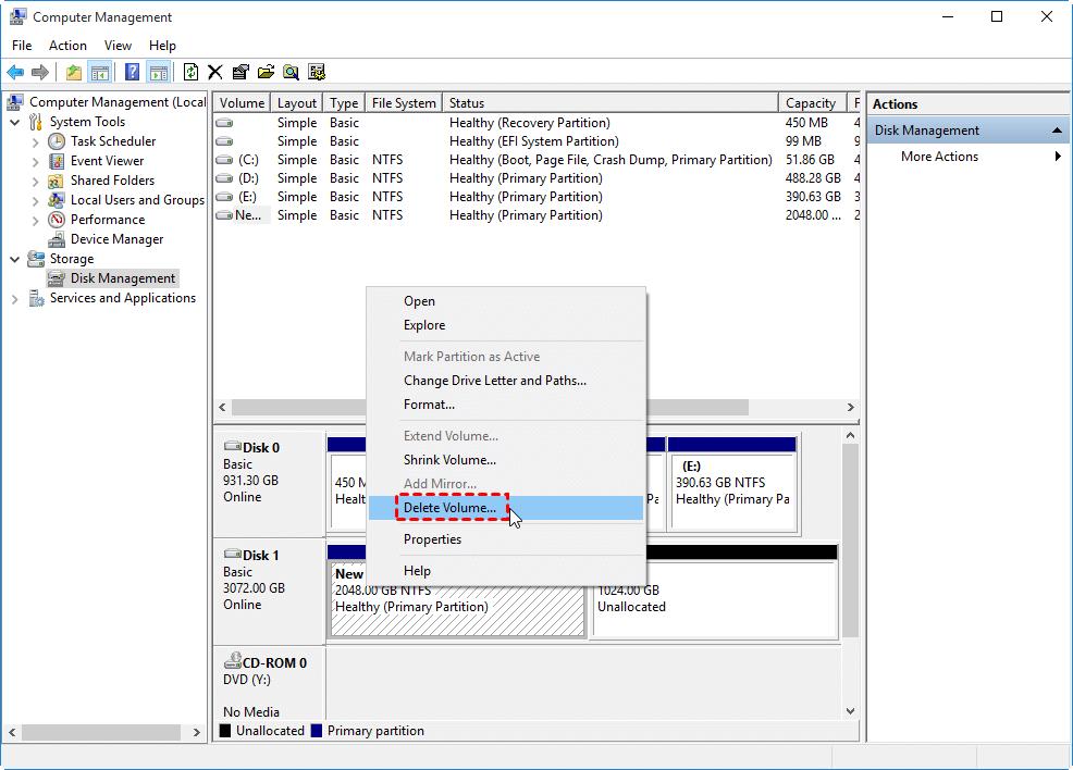 delete-volume-windows-10