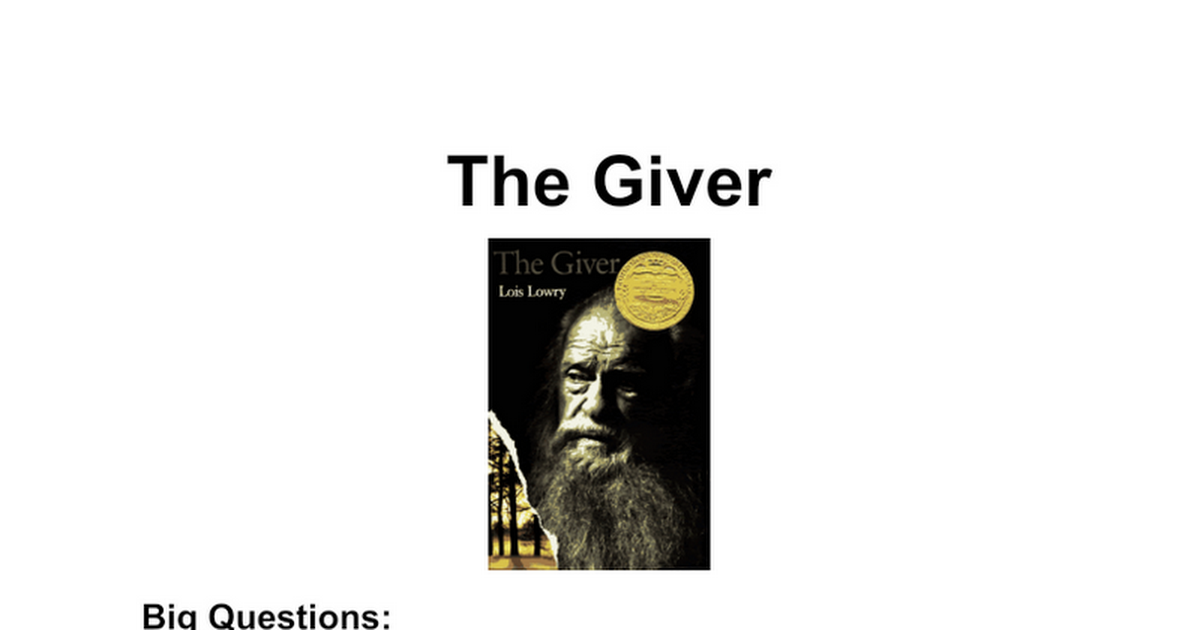 an examination of the book the giver by lois lowry Thesis statement for the giver by lois lowry: users may order a truly new giver lois lowry essay, examination term paper, exam book report.