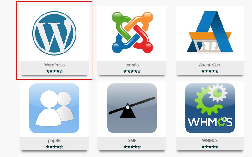 installing WordPress in India