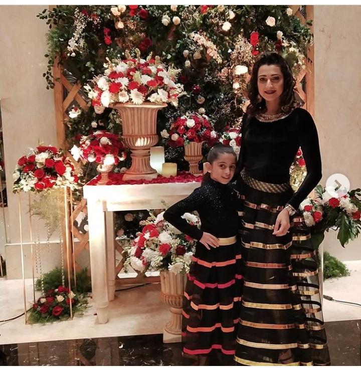 Pooja kanwal and her daughter