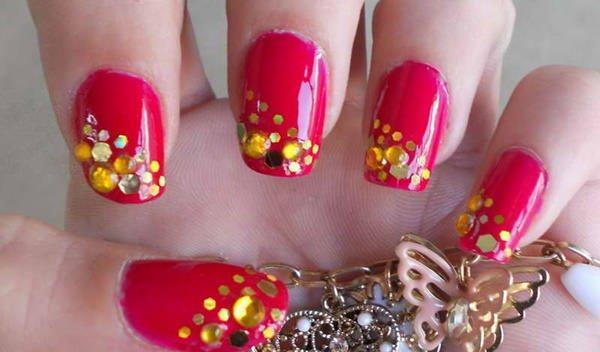 cute nail designs creem (6)