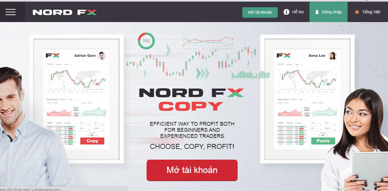 Nên dùng NordFX hay không?