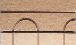 Figure 2 -2: Plaque isolante Caleosol Tradi U et retour de boucle