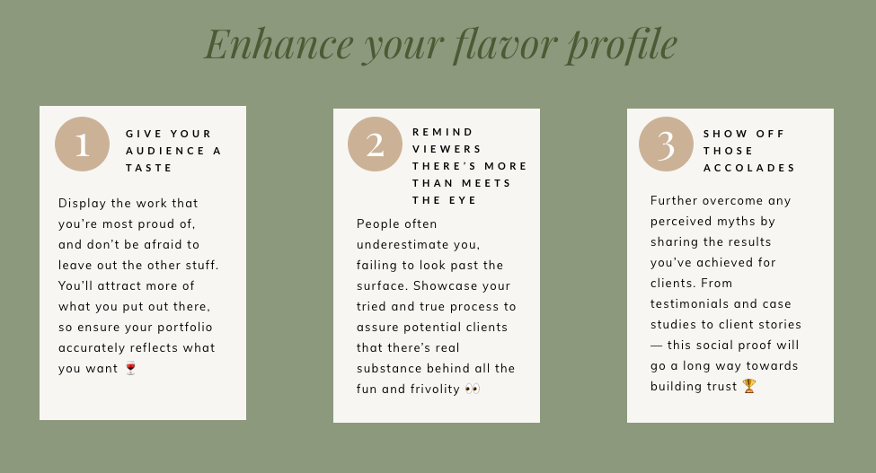 steps to enhance your flavor profile as a writer