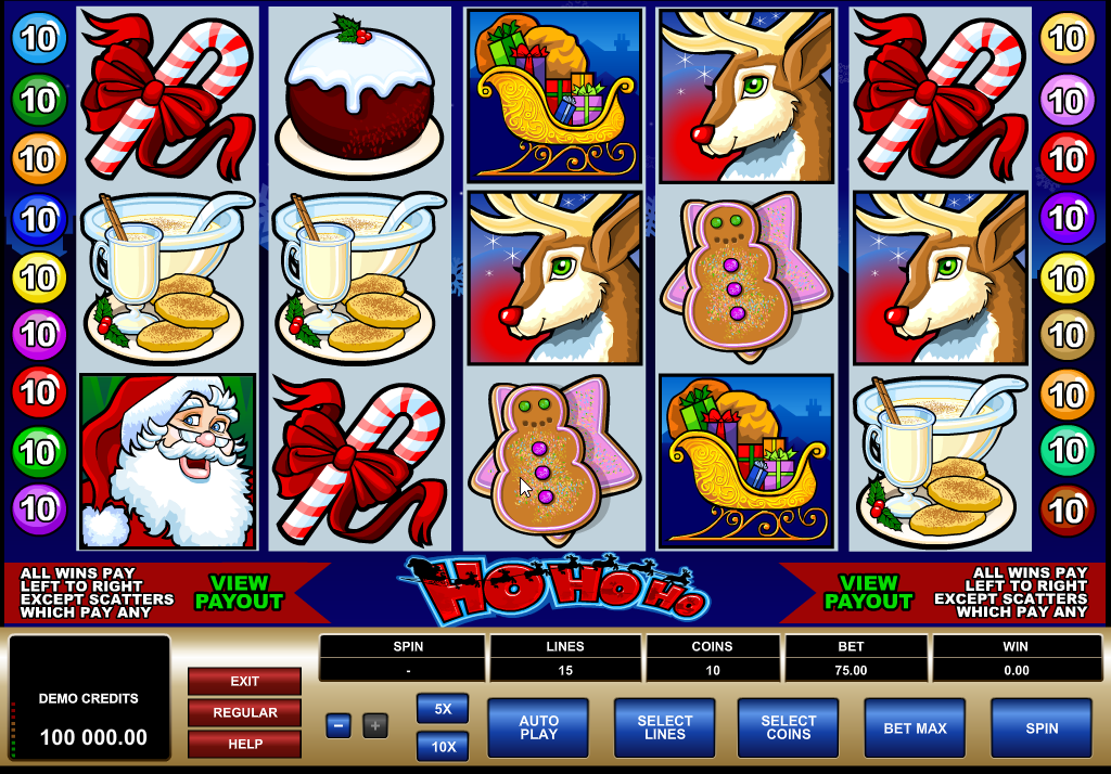 Ho Ho Ho Slots Machine Review