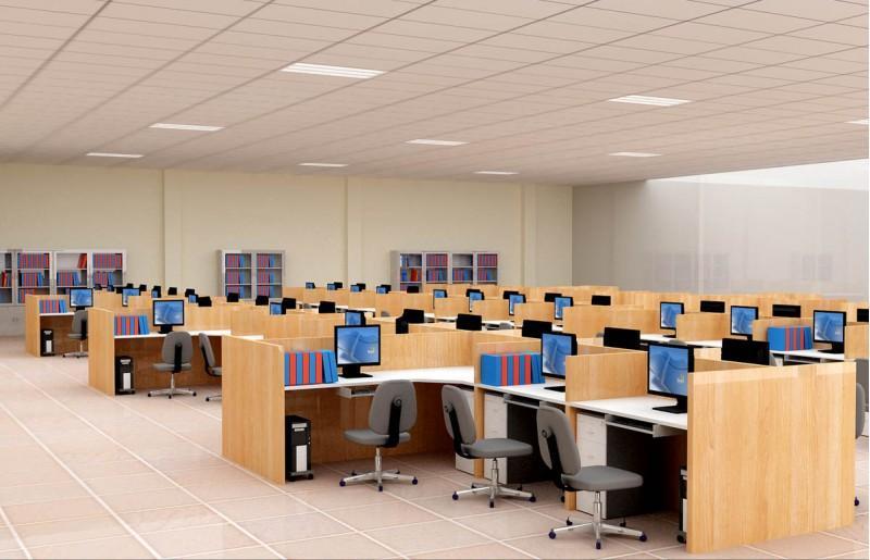 Image result for thiết kế nội thất phòng làm việc nhân viên