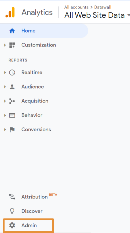 how to connect your YouTube channel to Google Analytics step 1