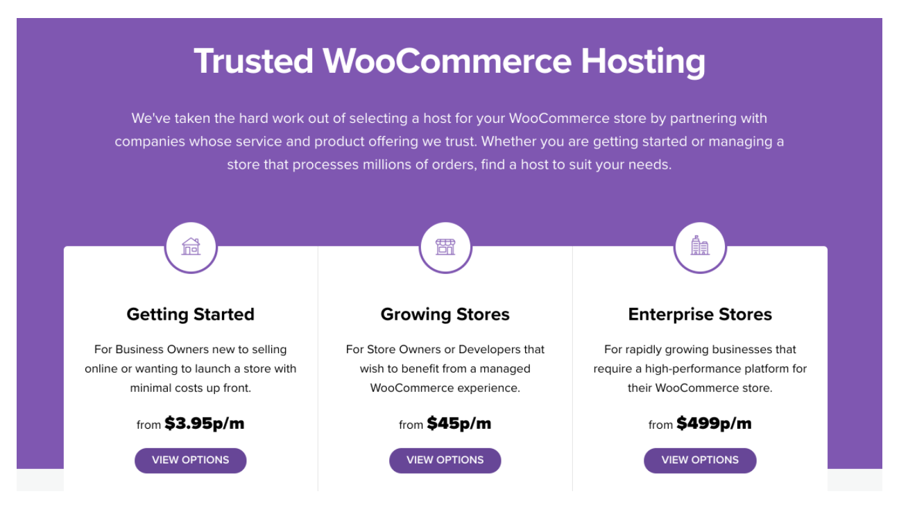 WooCommerce Hosting Partners