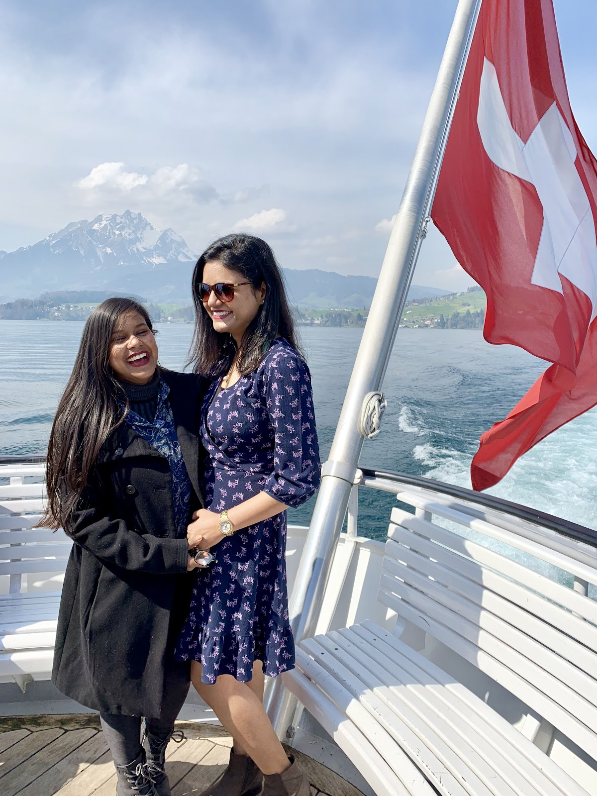 Ferry on Lake Lucerne - Guide to visiting Rigi Kulm