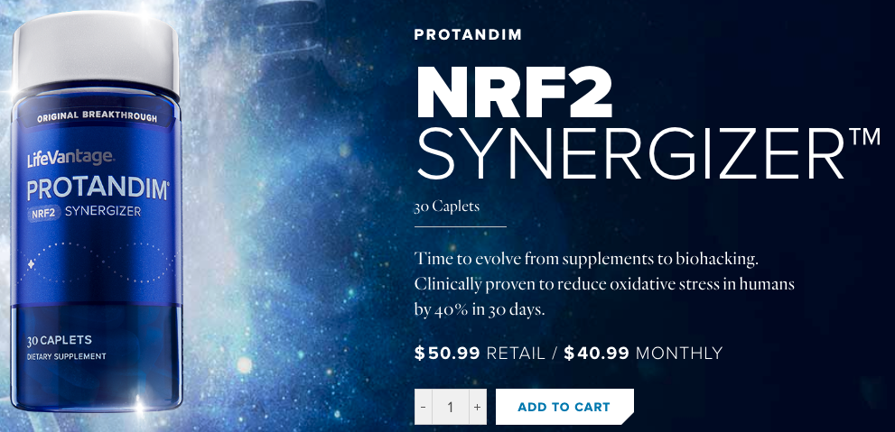 LifeVantage MLM Review: Can You Really Make Money With Lifevantage? How to Buy LifeVantage Protandim Nrf2 Synergizer