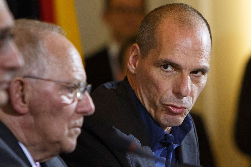 Greek Finance Minister Varoufakis Visits Berlin
