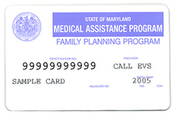 Medicaid Family Planning Card
