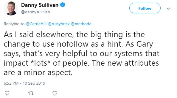 Danny Sullivan tweet 2