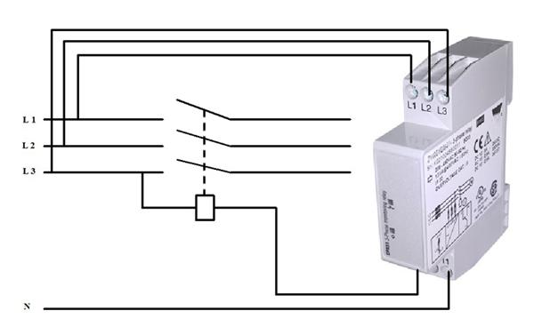 Sơ đồ mạch điện bảo vệ mất pha