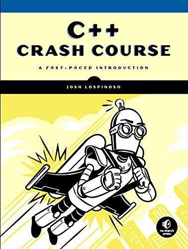 "Cover of the book ""C++ Crash Course"" by John Lospinoso"