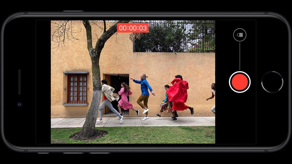 video iPhone SE 2020
