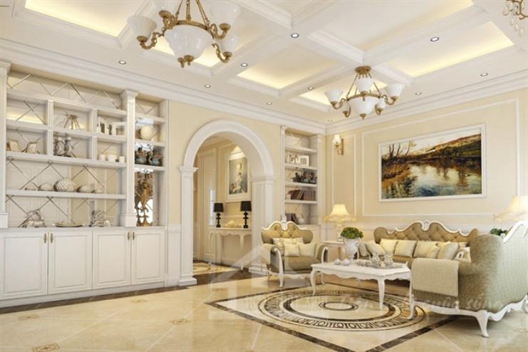 Kết quả hình ảnh cho Phong cách thiết kế nội thất nhà chung cư tân cổ điển