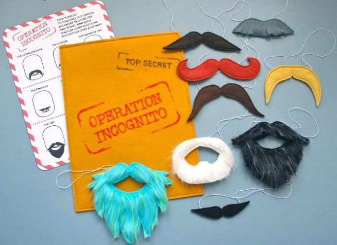 Disguise Mustaches on Craftsy