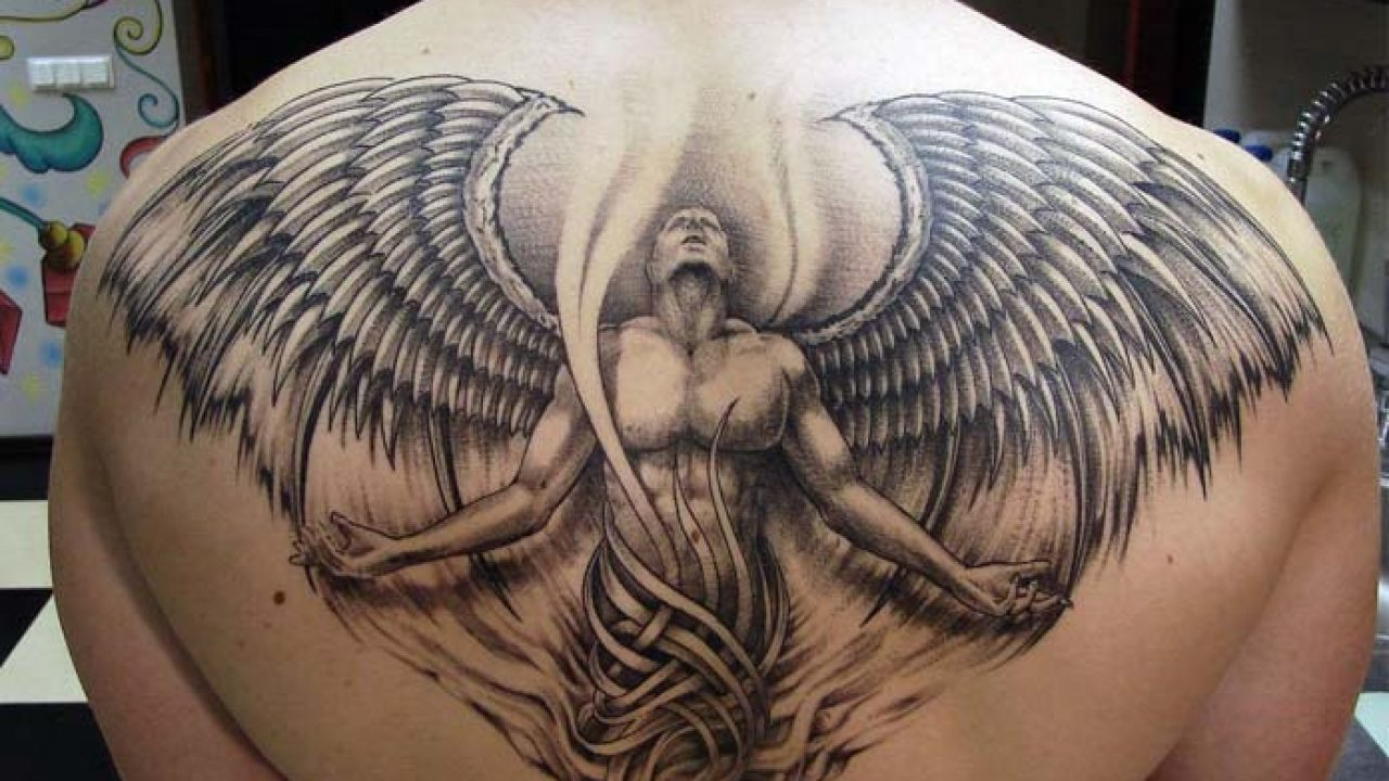Angel Tattoo - The Idea For Women With Goodness In Them