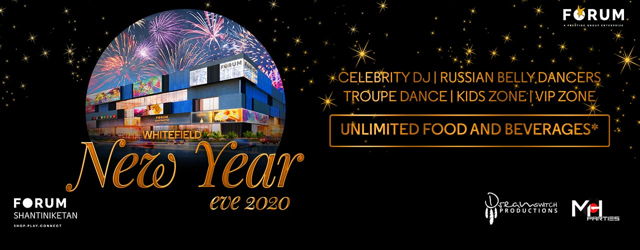 Whitefield New Year`s Eve 2020