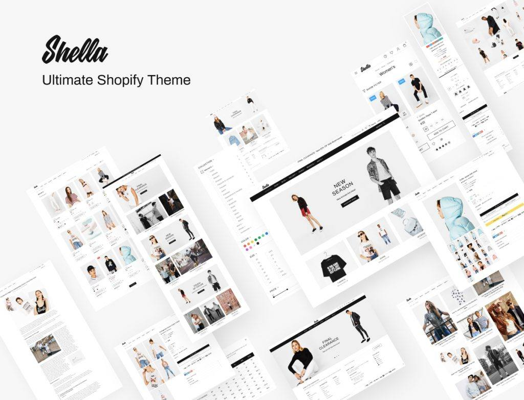 Shella - premium Shopify theme