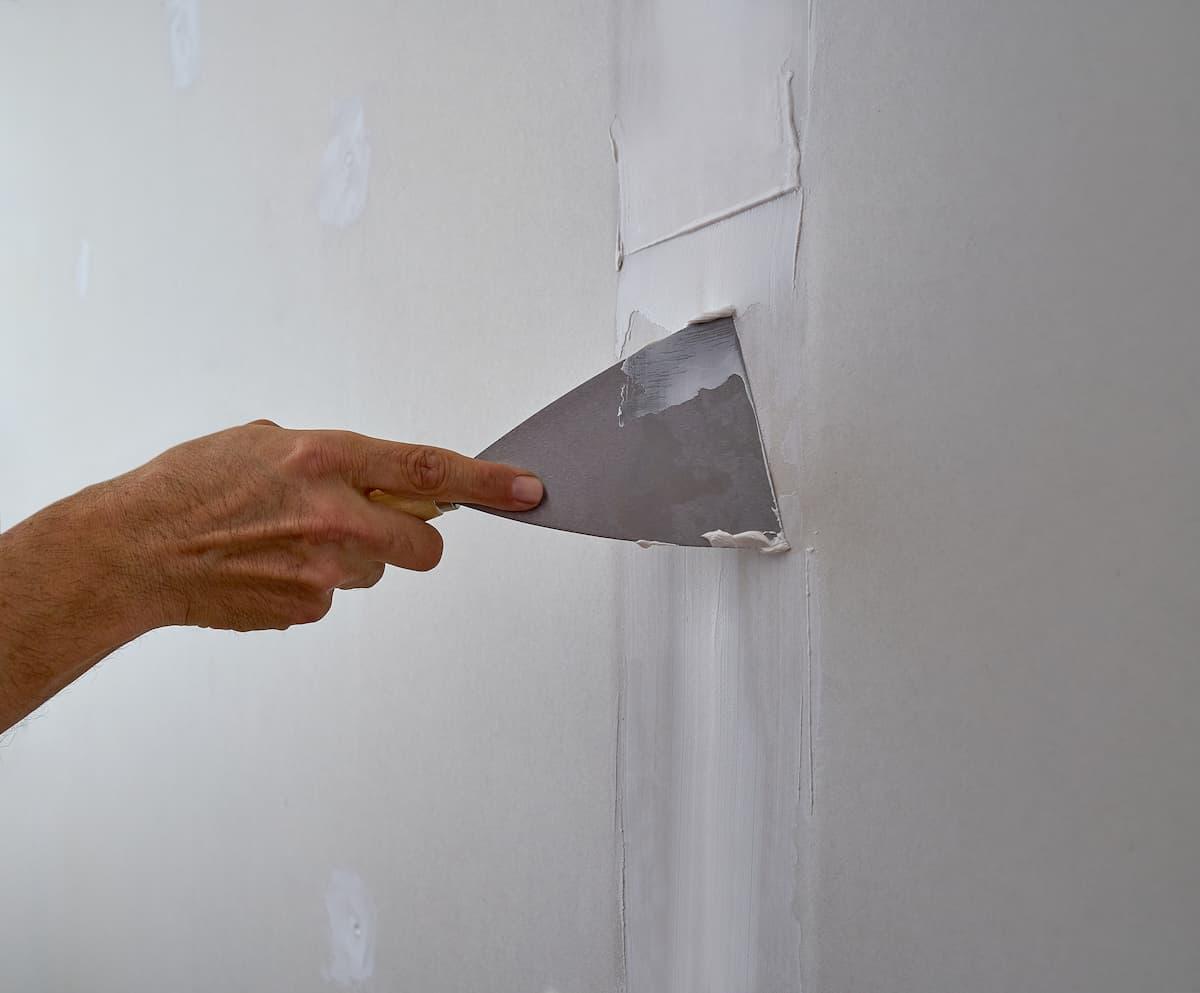 Mr. Handyman drywall repair.