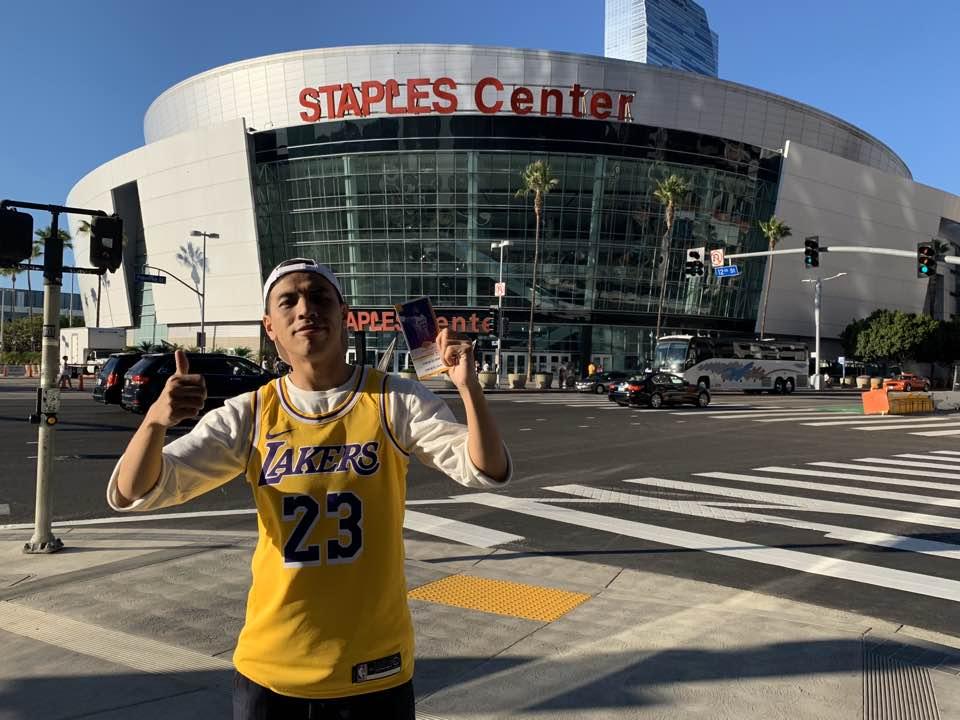洛杉磯自由行STAPLES CENTER
