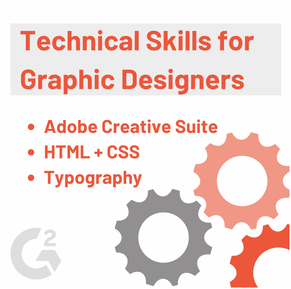 technical graphic designer skills