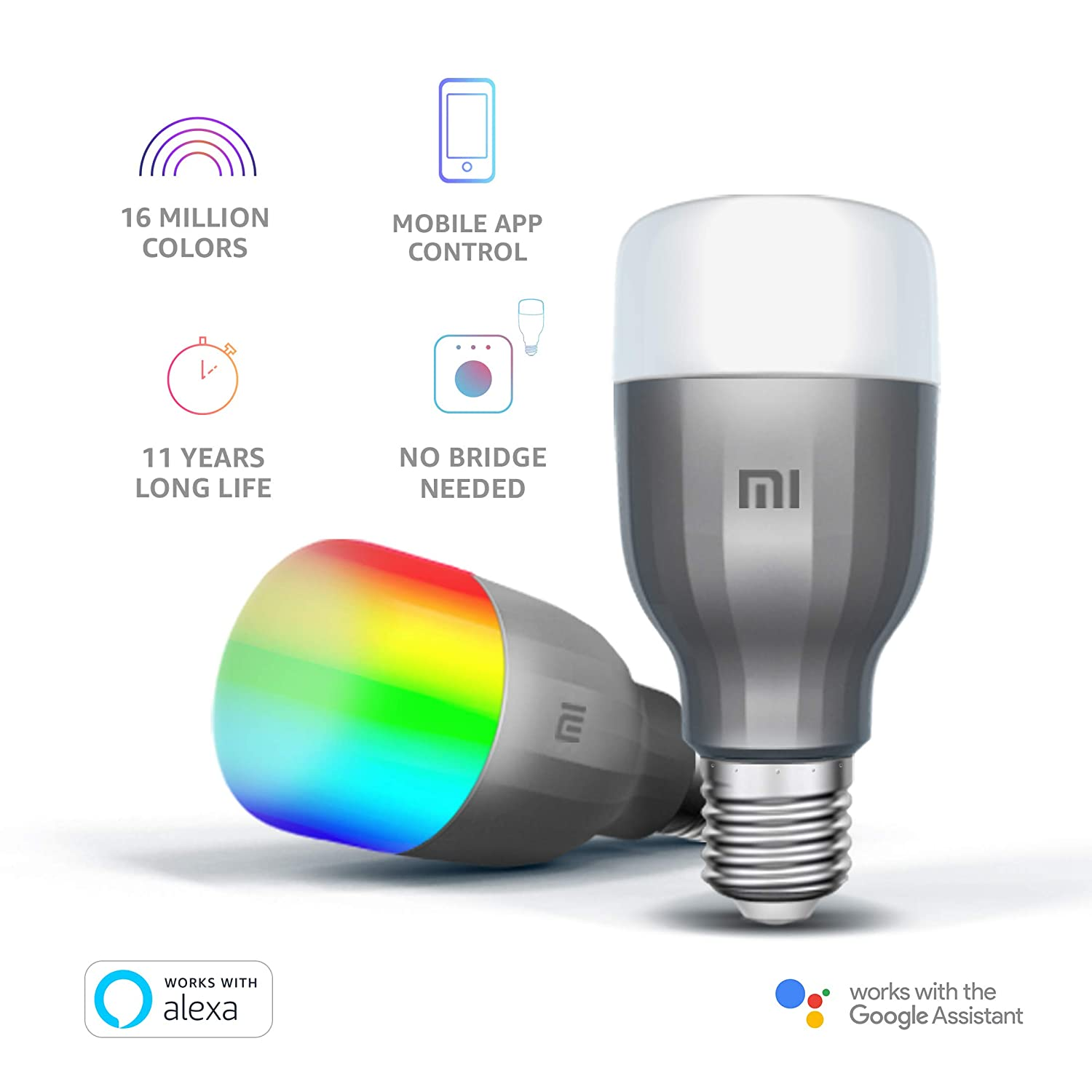 Xiaomi Yeelight 10W Smart LED Bulb