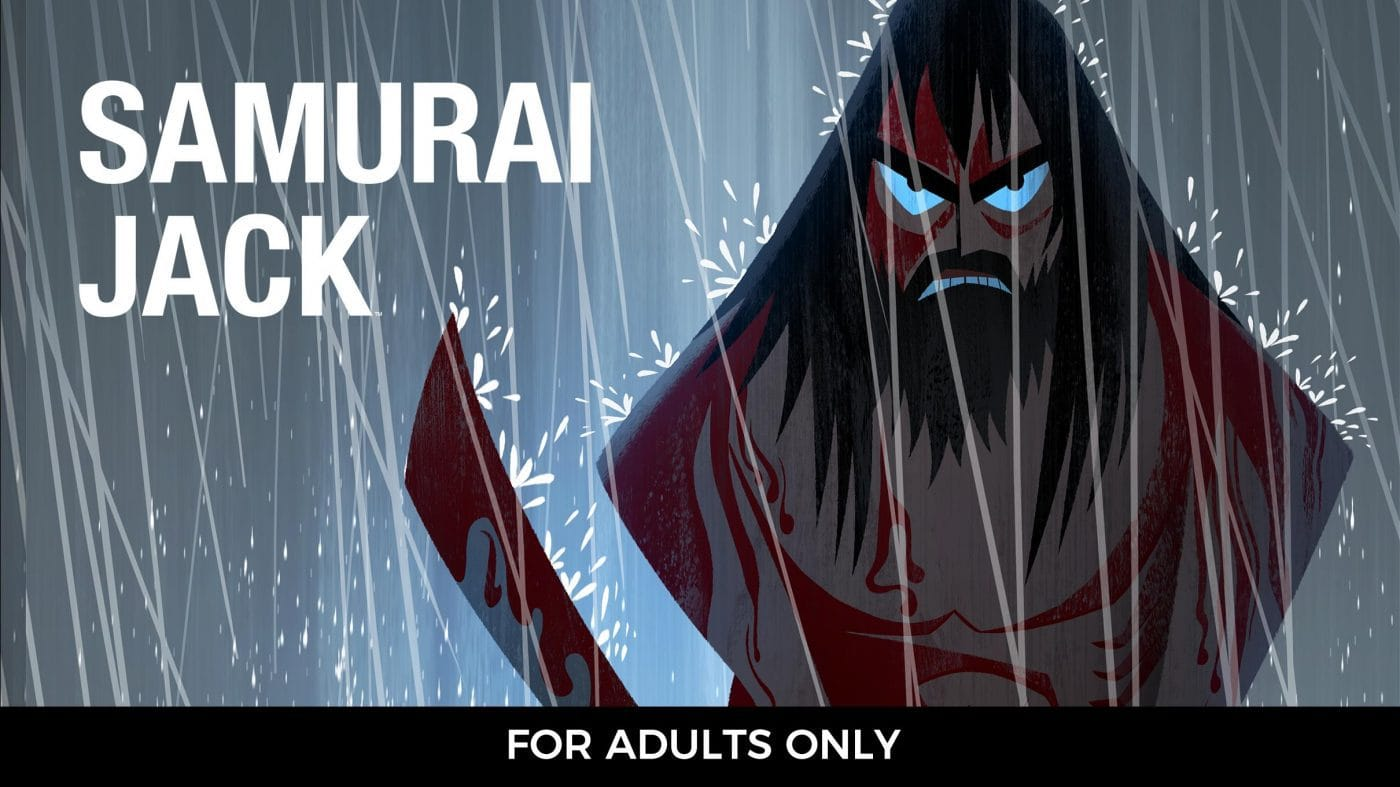Samurai Jack is on Showmax