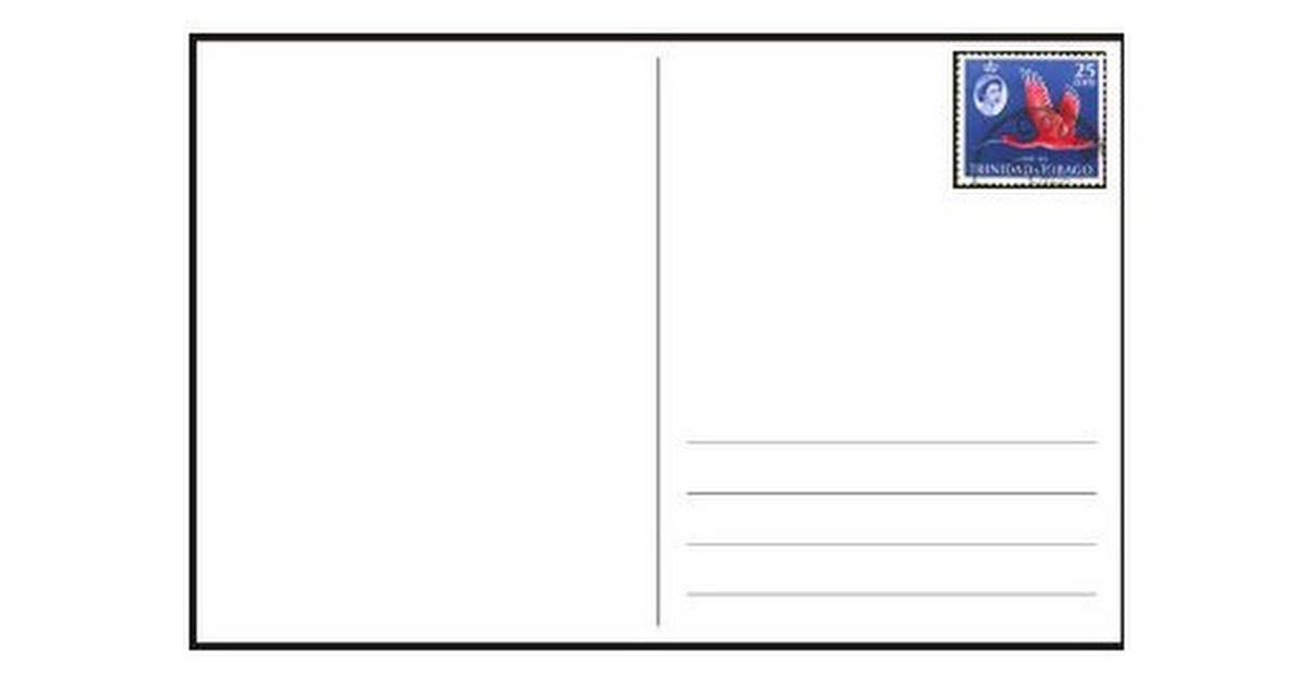 Postcard Template Pdf Google Drive