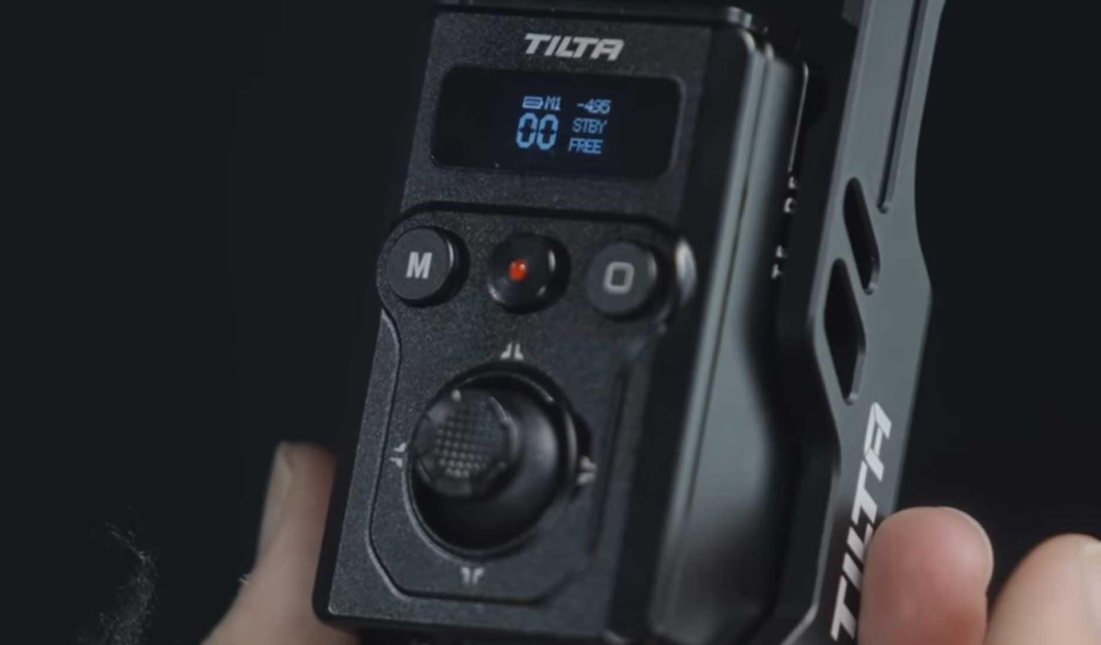 Tilta Float system wireless thumb controller