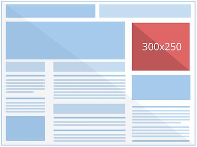 лучшие практики для графических объявлений 300x250
