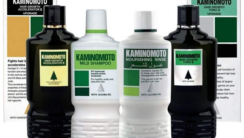 7 sản phẩm dầu gội và thuốc kích thích mọc tóc của Kaminomoto
