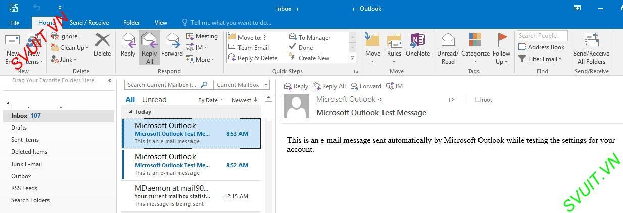 Xóa thư trên webmail và giữ lại trên Outlook (9)