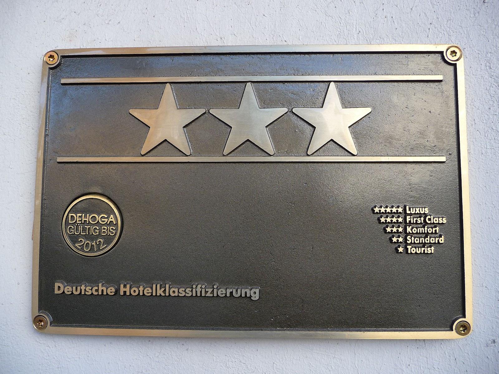 Wie nennt man die deutschen Hotelklassifizierungen in Deutschland?