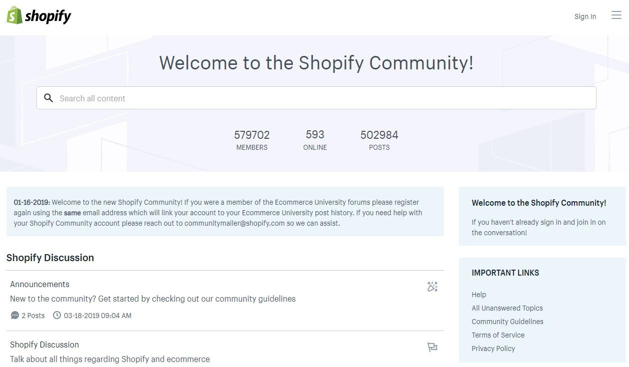C:\Users\User\Desktop\SHOPIFY\Shopify vs WooCommerce\Shopify community.jpg
