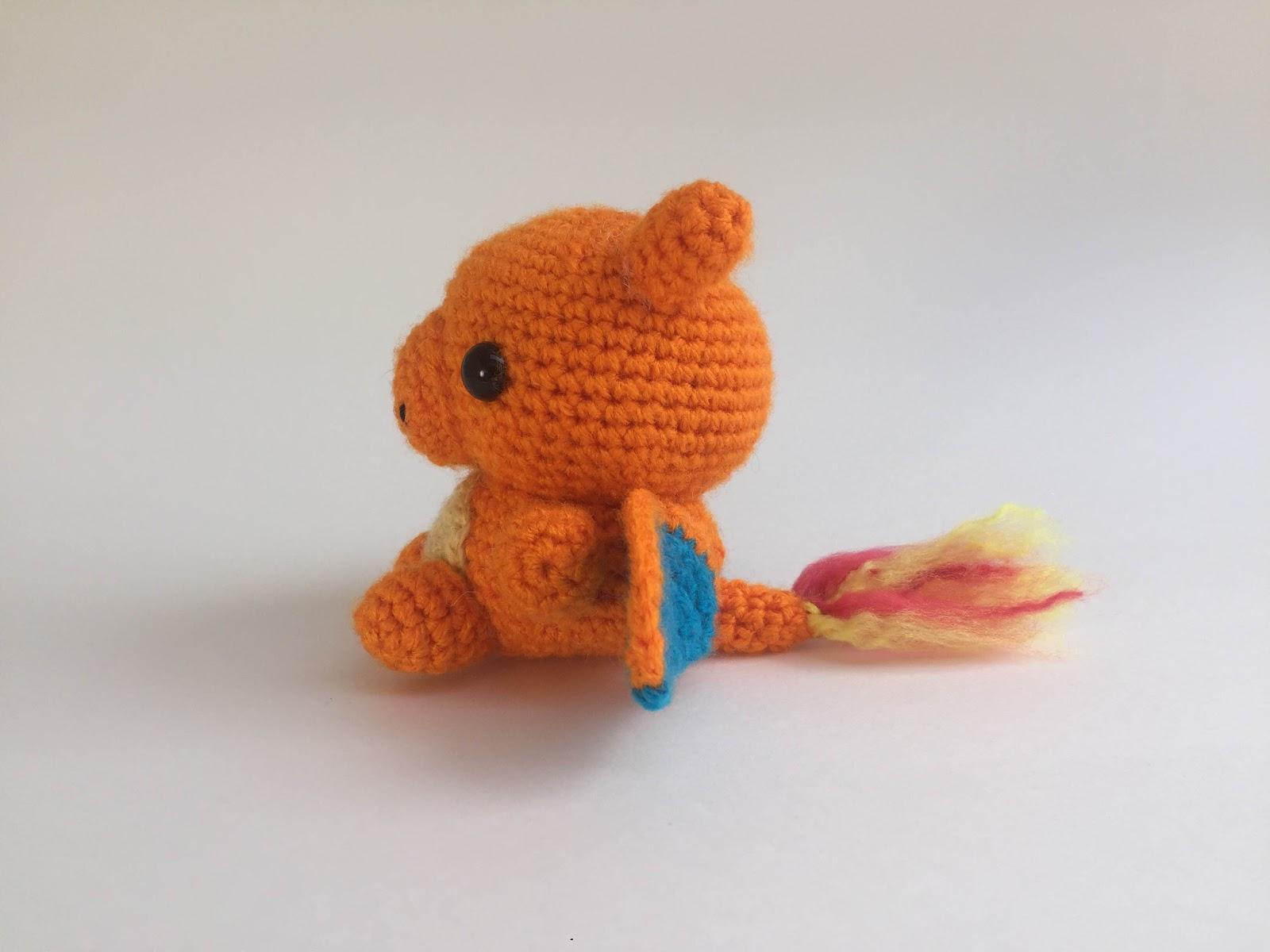 Shiny Charizard Amigurumi | Crochet pokemon, Crochet, Crochet projects | 1200x1600