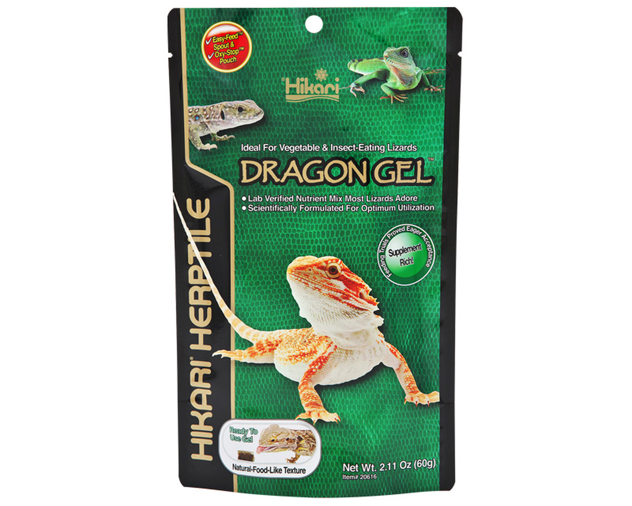 Would You Feed Your Reptile Gel Food The Tye Dyed Iguana Reptiles And Reptile Supplies In St Louis