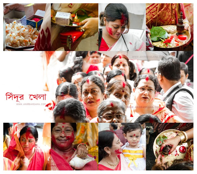 Sindur Khela, Durga Puja, Best photographs, North Kolkata, Kolkata
