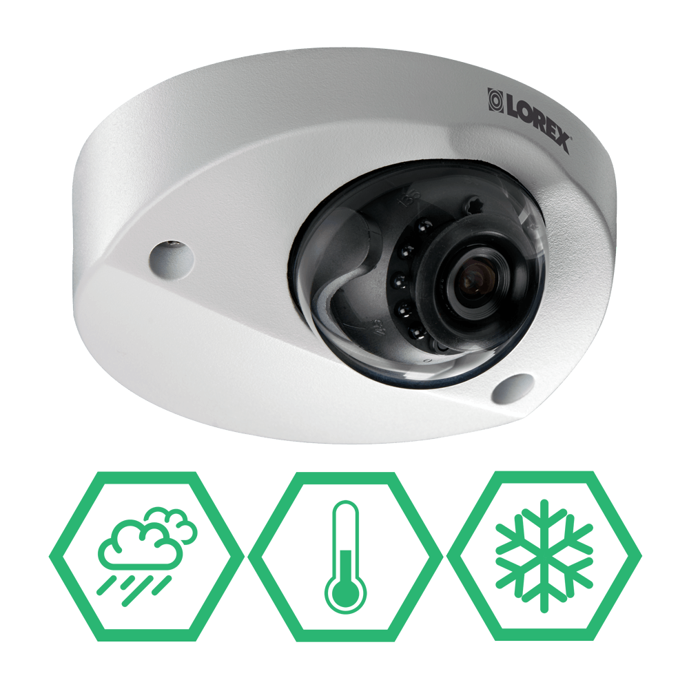 Extreme temperature security cameras