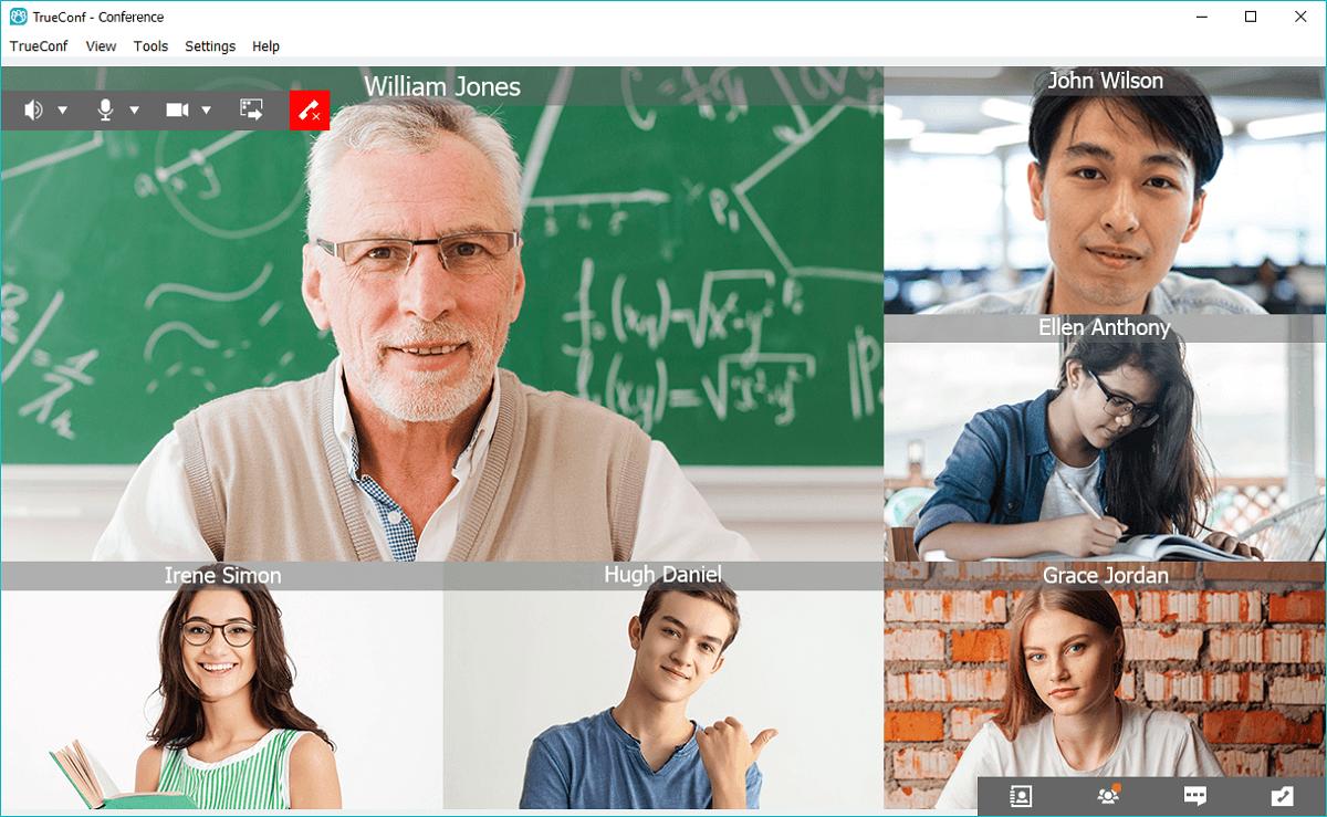 TrueConf giúp các trường học và trường đại học chuyển các lớp học trực tuyến do đại dịch COVID-19