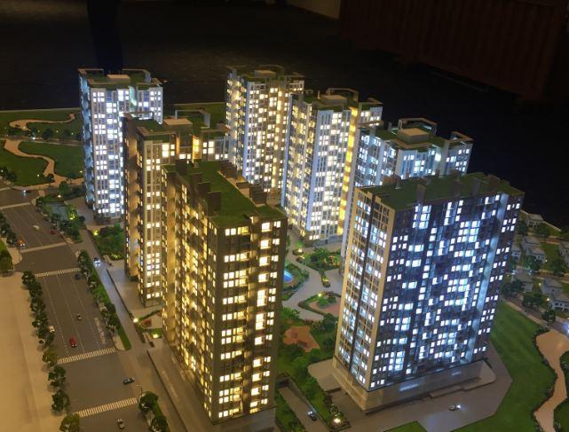 Địa chỉ Opal City nằm tại đường Liên Phường, quận 9, Thành phố Hồ Chí Minh