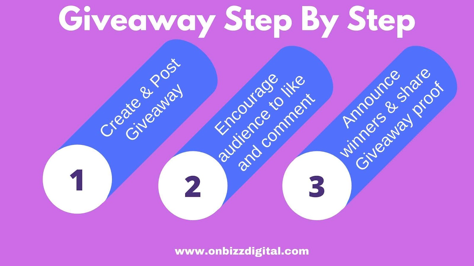 How to do Giveaway?