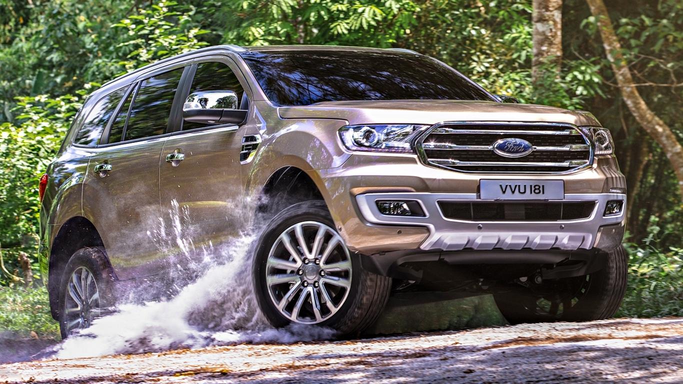 Xe Ford Everest được đánh giá cao
