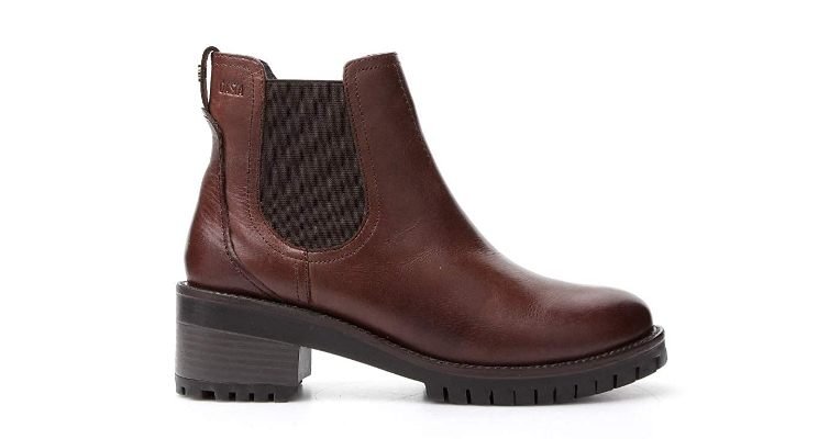 Miniprice Brown Chelsea Boots For Women