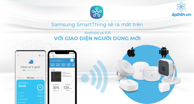 Samsung SmartThings trung tâm điều khiển nhà thông minh