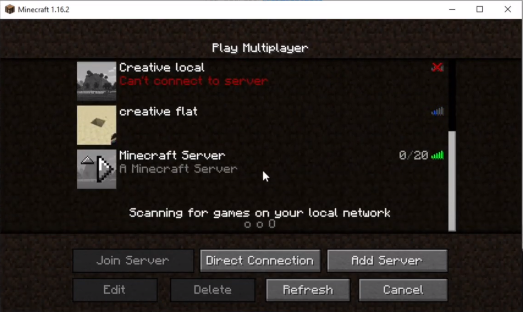 Launching server