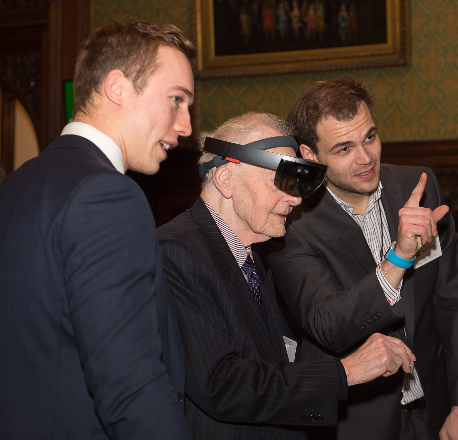 Experiencing HoloLens for the First Time Anglian Water